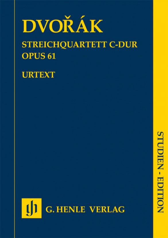 Quatuor à Cordes, opus 61 - Antonin Dvorak - laflutedepan.com