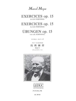 Exercices Op. 15 Fürstenau Anton Bernhard / Moyse Marcel laflutedepan
