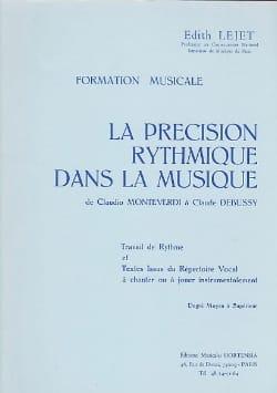 Edith Lejet - Rhythmic precision ... - Medium to Sup. - Partition - di-arezzo.com