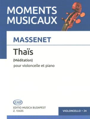 Méditation de Thaïs - Violoncelle MASSENET Partition laflutedepan