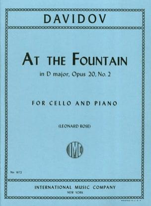 At The Fountain in D Major op. 20 n° 2 Charles Davidoff laflutedepan
