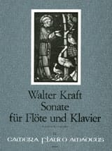Sonate - Flûte et Piano - Walter Kraft - Partition - laflutedepan.com