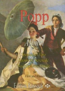 Album - Flöte Klavier Wilhelm Popp Partition laflutedepan