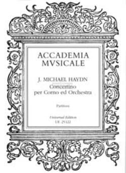 Concertino per corno - Partitura - Michael HAYDN - laflutedepan.com