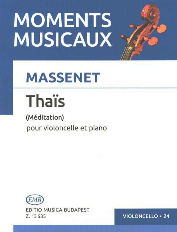 Méditation de Thaïs - Violoncelle - MASSENET - laflutedepan.com