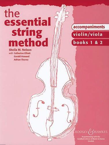 Essential string method - Acc. Violin/Viola - laflutedepan.com