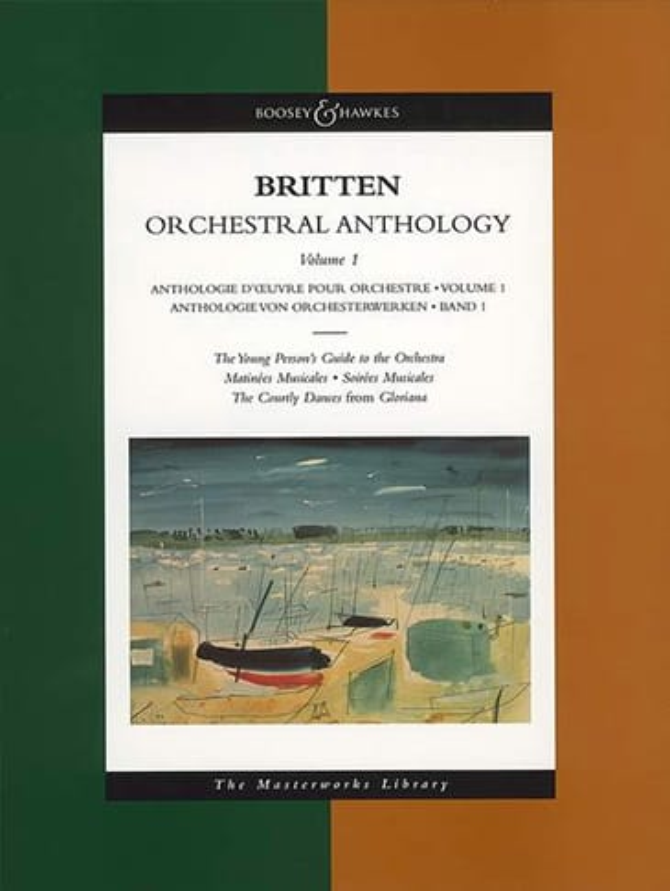 Orchestral Anthology - Volume 1 - BRITTEN - laflutedepan.com
