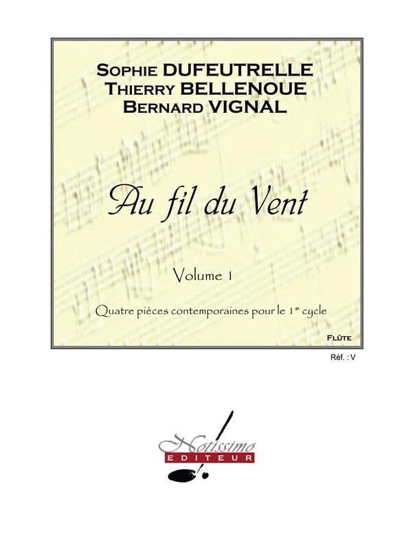Au Fil du Vent Volume 1 - Sophie Dufeutrelle - laflutedepan.com