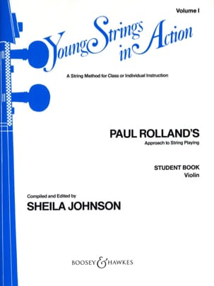Young strings in action, Volume 1 - Student - Violin laflutedepan