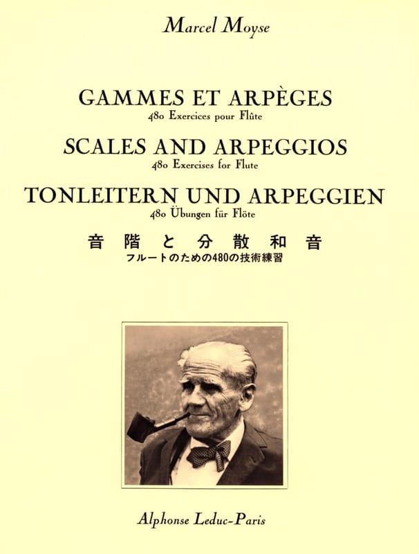 Gammes et Arpèges - Marcel Moyse - Partition - laflutedepan.com