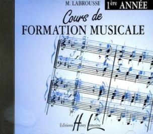 CD - Cours de Formation Musicale Volume 1 - laflutedepan.com