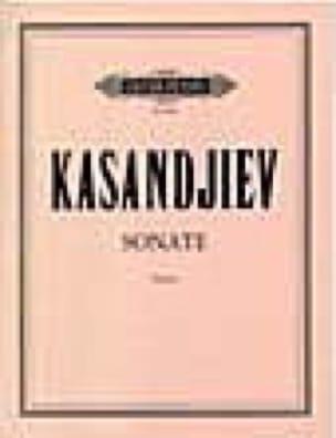 Sonate - Wassil Kasandjiev - Partition - Violon - laflutedepan.com