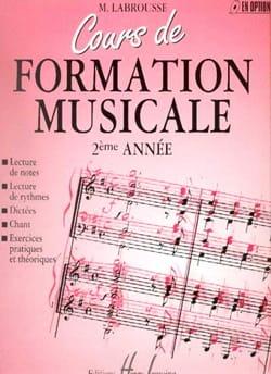 Marguerite Labrousse - Curso de entrenamiento musical - Volumen 2 - Partition - di-arezzo.es