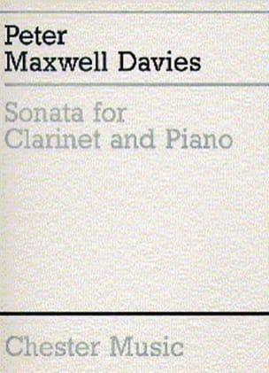 Sonata for clarinet and piano Davies Peter Maxwell laflutedepan