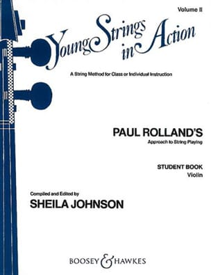 Young strings in action, Volume 2 - Student - Violin laflutedepan
