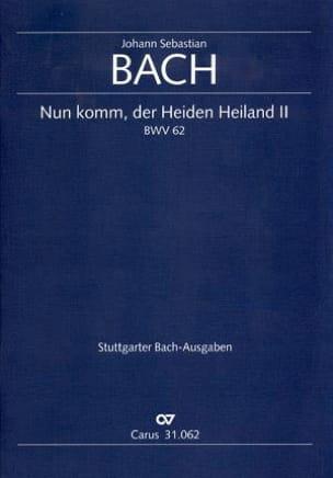 Cantate Nun Komm, Der Heiden Heiland 2 BWV 62 BACH laflutedepan
