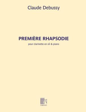 Première Rhapsodie pour clarinette DEBUSSY Partition laflutedepan