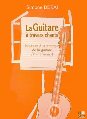 La Guitare à Travers Chants Simone Derai Partition laflutedepan