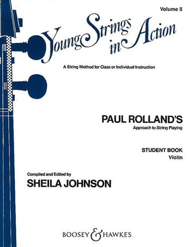 Young strings in action, Volume 2 - Student - Violin - laflutedepan.com