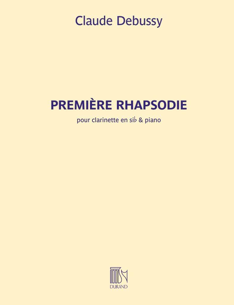 Première Rhapsodie pour clarinette - DEBUSSY - laflutedepan.com