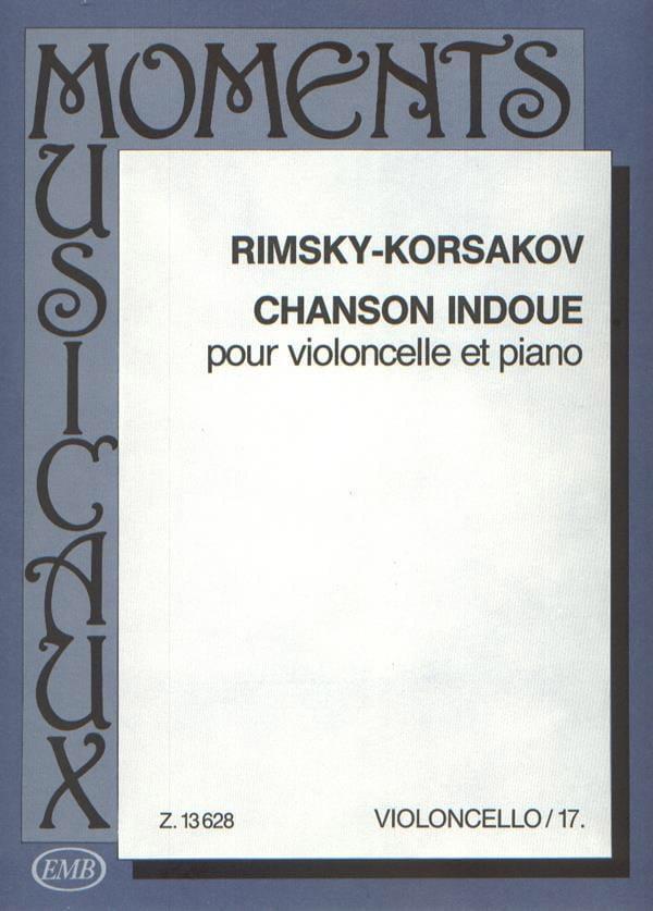 Chanson indoue - RIMSKY-KORSAKOV - Partition - laflutedepan.com