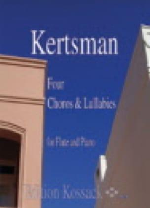 4 Choros And Lullabies - Miguel Kertsman - laflutedepan.com