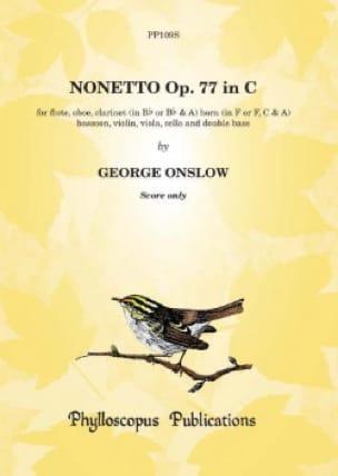 Nonett, op. 77 - Score - Georges Onslow - Partition - laflutedepan.com