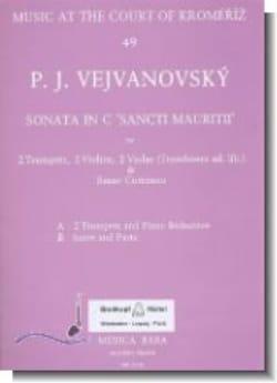 Sonata in C Sancti Mauritii -Score + parts laflutedepan