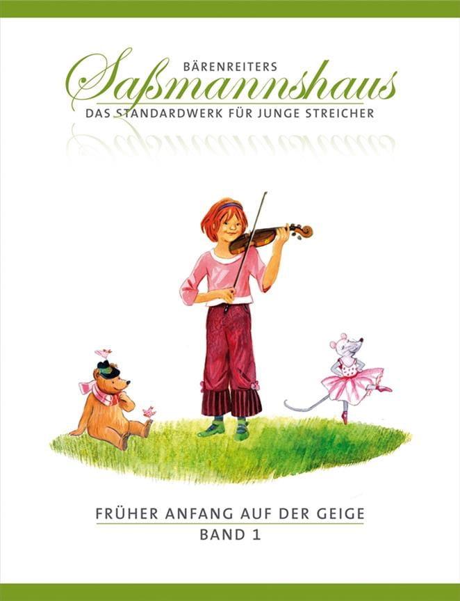 Früher Anfang Auf Der Geige Volume 1 - laflutedepan.com
