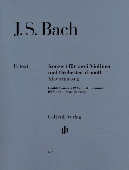 Concerto en ré mineur BWV 1043 pour 2 violons et orchestre Double concerto - laflutedepan.com