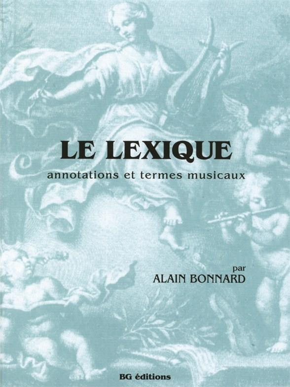 Le Lexique - Alain Bonnard - Partition - Théories - laflutedepan.com