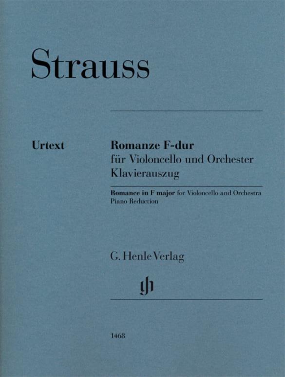 Romance en Fa Majeur - Richard Strauss - Partition - laflutedepan.com