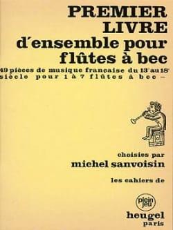 1er Livre d'ensemble pour flûtes à bec Partition laflutedepan