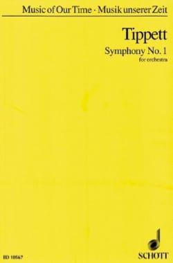 Symphonie n° 1 - Partitur Michael Tippett Partition laflutedepan