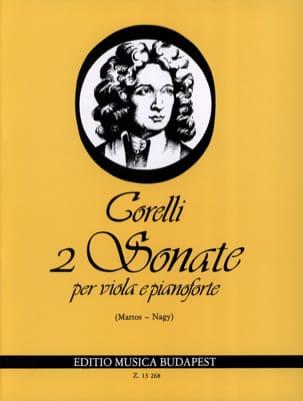2 Sonates, op. 5 n° 7-8 - Viola CORELLI Partition Alto - laflutedepan