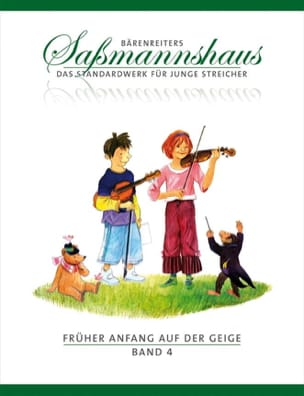 Fruher Anfang Auf Der Geige Vol.4 Egon Sassmannshaus laflutedepan
