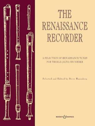 The renaissance recorder Alto Steve Rosenberg Partition laflutedepan
