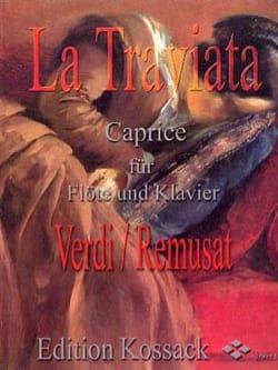 La Traviata : Caprice Remusat Jean Partition laflutedepan
