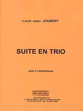 Suite en Trio Claude-Henry Joubert Partition laflutedepan