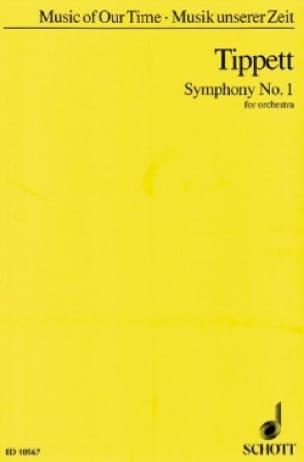 Symphonie n° 1 - Partitur - Michael Tippett - laflutedepan.com