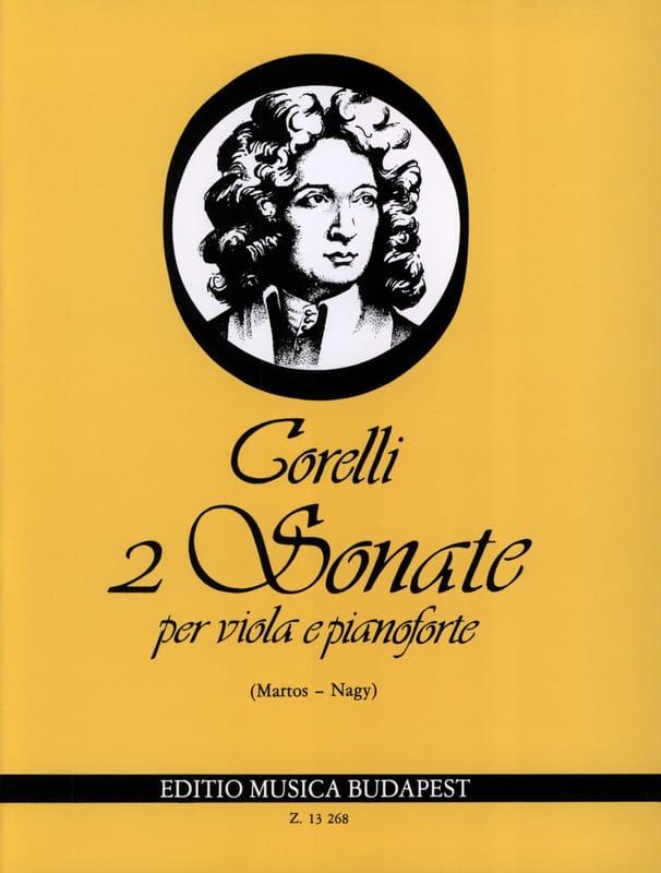 2 Sonates, op. 5 n° 7-8 - Viola - CORELLI - laflutedepan.com