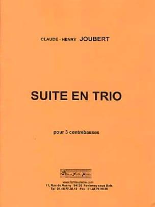 Suite en Trio - Claude-Henry Joubert - Partition - laflutedepan.com