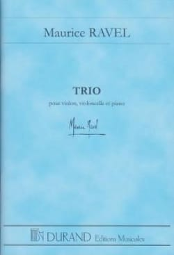 Trio - Conducteur RAVEL Partition Grand format - laflutedepan