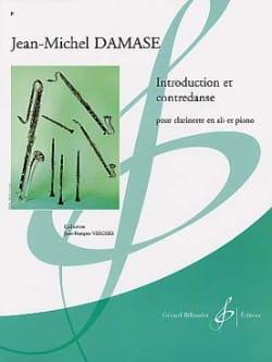 Introduction et Contredanse Jean-Michel Damase Partition laflutedepan