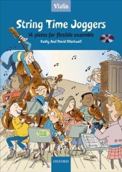 String Time Joggers -Violon Partition Violon - laflutedepan