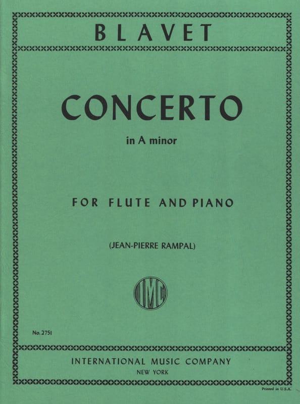 Concerto in A minor - Flute piano - Michel Blavet - laflutedepan.com