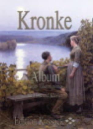 Album - Emil Kronke - Partition - Flûte traversière - laflutedepan.com