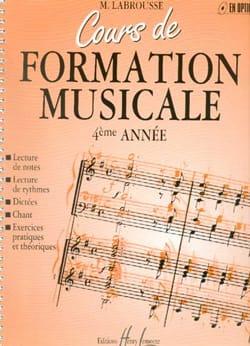 Cours de Formation Musicale - Volume 4 laflutedepan