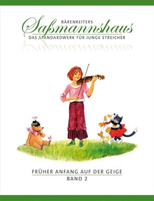 Fruher Anfang Auf Der Geige Vol.2 Egon Sassmannshaus laflutedepan