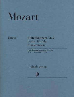 Concerto pour flûte n° 2 en Ré majeur K. 314 MOZART laflutedepan